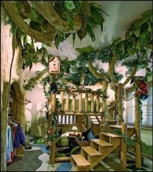 Charming Kids Bedroom Ideas With Jungle Theme To Try22