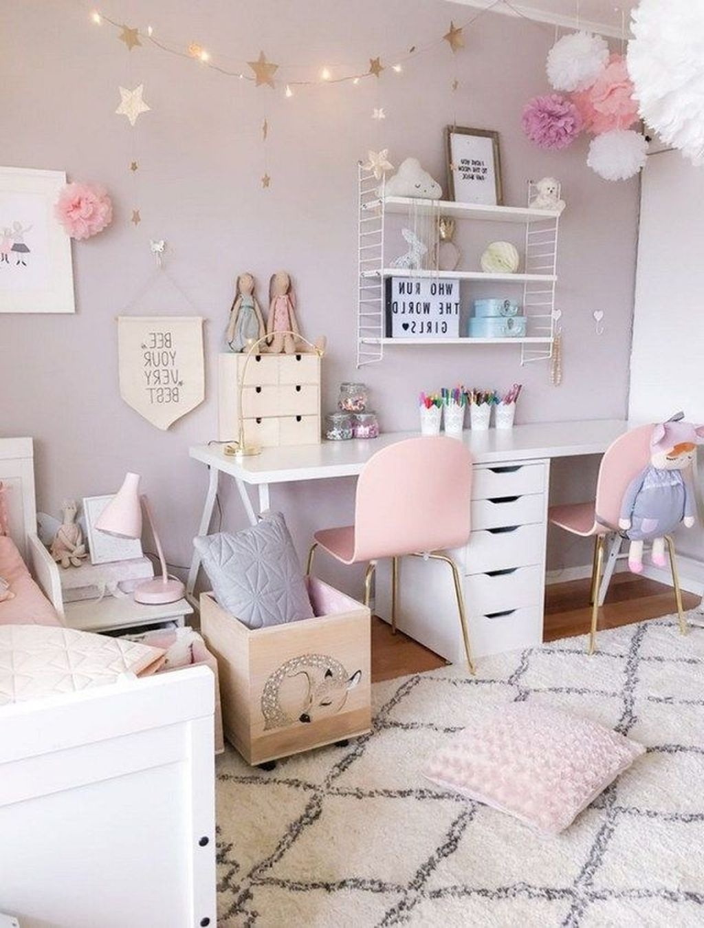 Comfy Kids Bedroom Decoration Ideas That Trendy Now45