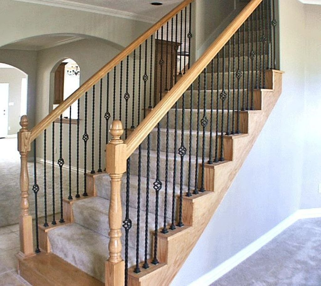 Cool Indoor Stair Design Ideas You Must See35