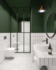 Cute Minimalist Bathroom Design Ideas For Your Inspiration19