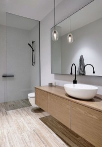 Cute Minimalist Bathroom Design Ideas For Your Inspiration20