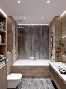 Cute Minimalist Bathroom Design Ideas For Your Inspiration22