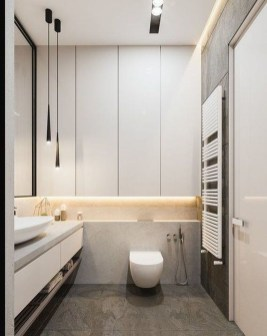 Cute Minimalist Bathroom Design Ideas For Your Inspiration26