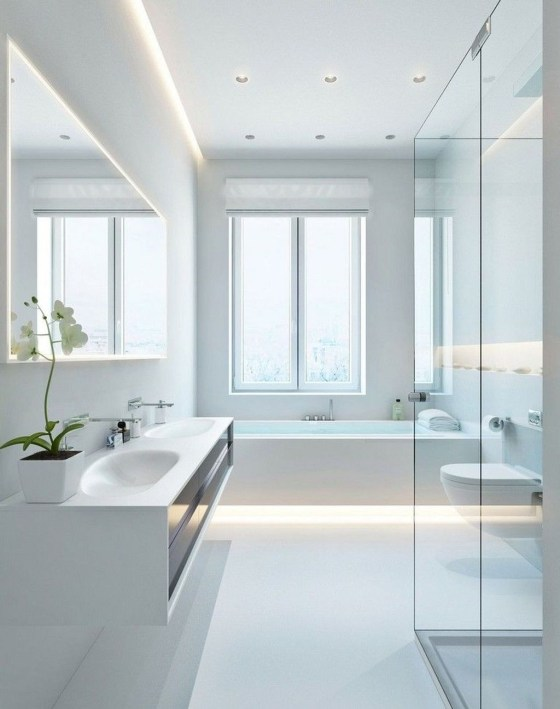 Cute Minimalist Bathroom Design Ideas For Your Inspiration41