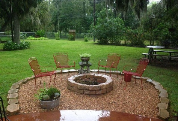 Extraordinary Diy Firepit Ideas For Your Outdoor Space27