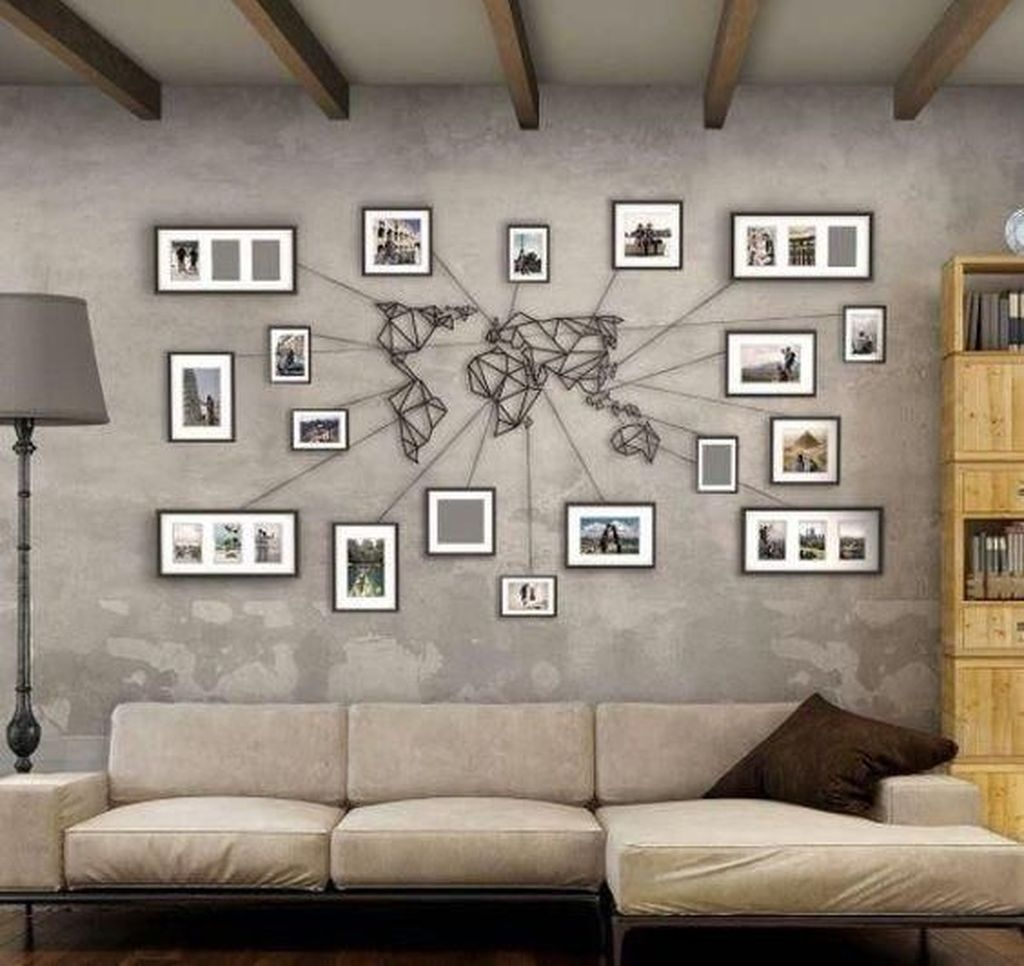 Latest Wall Decoration Ideas For Stunning Living Room12