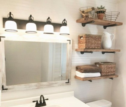 Modern Bathroom Floating Shelves Design Ideas For You10