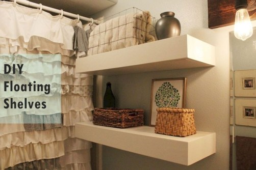 Modern Bathroom Floating Shelves Design Ideas For You32