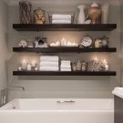 Modern Bathroom Floating Shelves Design Ideas For You45