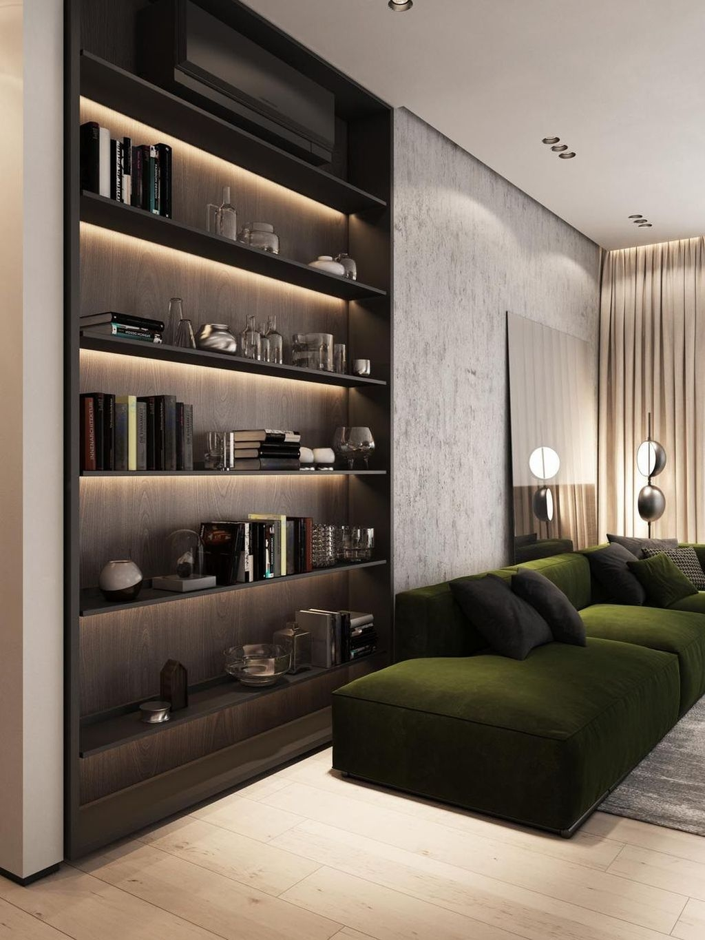 Newest Living Room Apartment Design Ideas For Your Apartment09