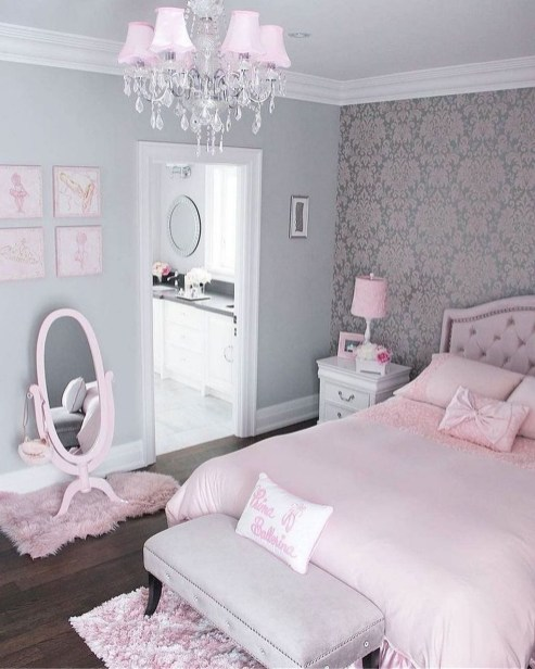 Pretty Princess Bedroom Design And Decor Ideas For Your Lovely Girl03