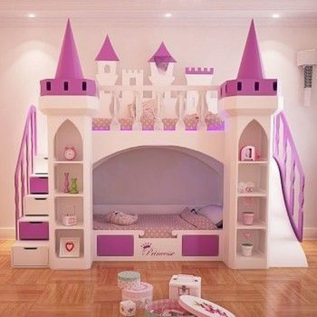 Pretty Princess Bedroom Design And Decor Ideas For Your Lovely Girl14
