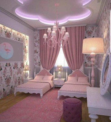 Pretty Princess Bedroom Design And Decor Ideas For Your Lovely Girl17
