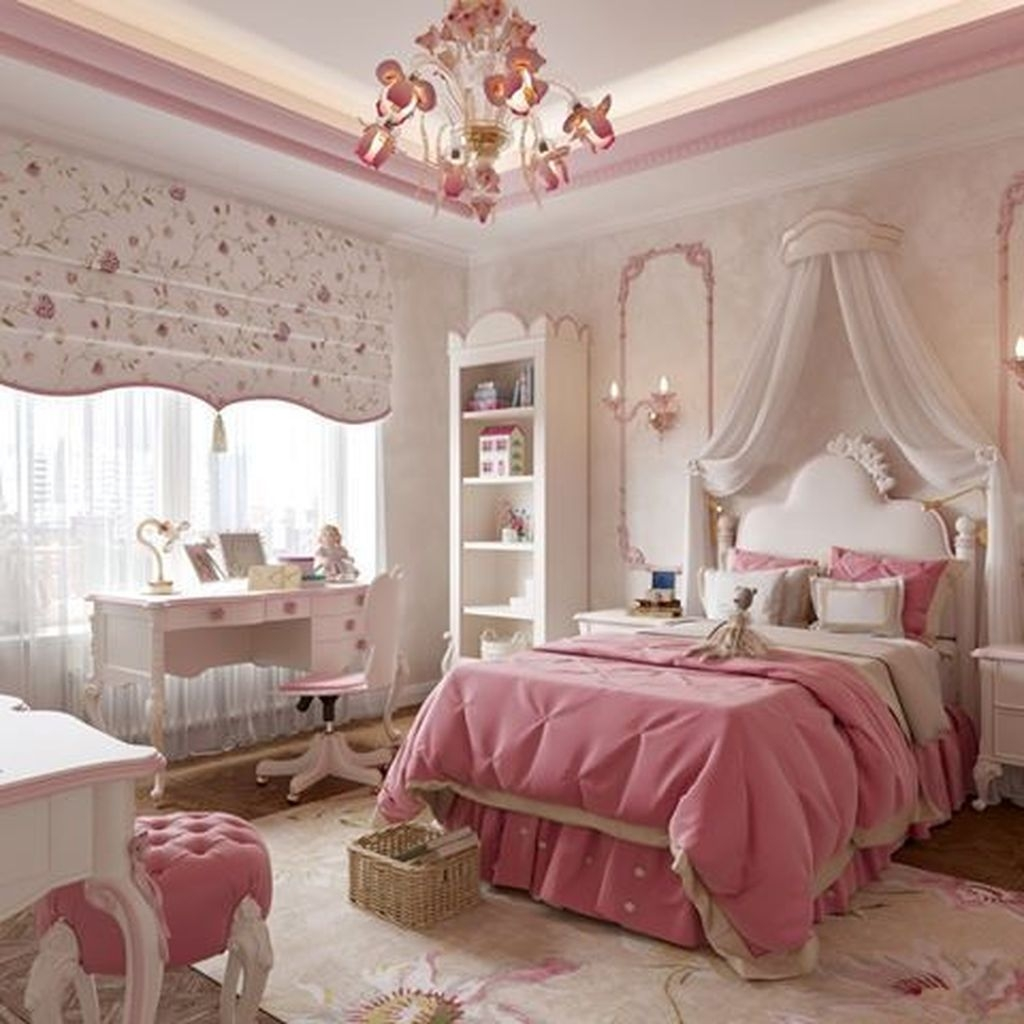Pretty Princess Bedroom Design And Decor Ideas For Your Lovely Girl20