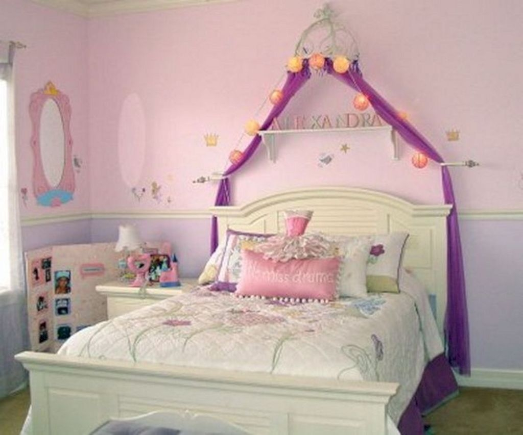 Pretty Princess Bedroom Design And Decor Ideas For Your Lovely Girl26