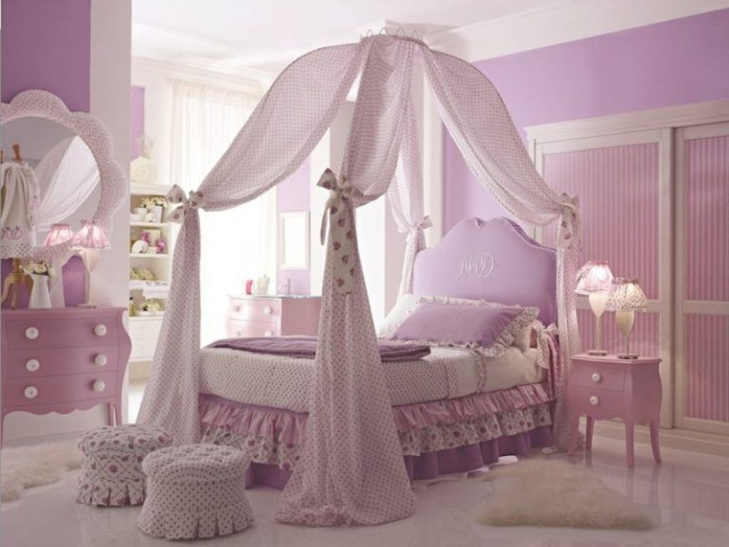 Pretty Princess Bedroom Design And Decor Ideas For Your Lovely Girl32