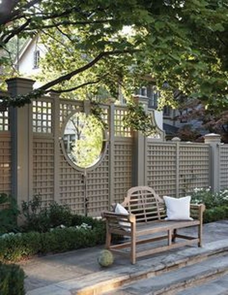 Smart Backyard Fence And Garden Design Ideas For Your Garden01