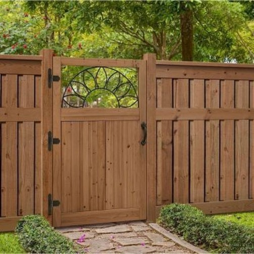 Smart Backyard Fence And Garden Design Ideas For Your Garden06