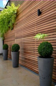 Smart Backyard Fence And Garden Design Ideas For Your Garden41