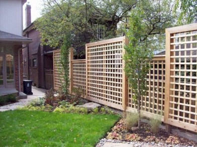 Smart Backyard Fence And Garden Design Ideas For Your Garden47