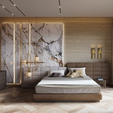 Unordinary Ceiling Design Ideas For Your Bedroom07