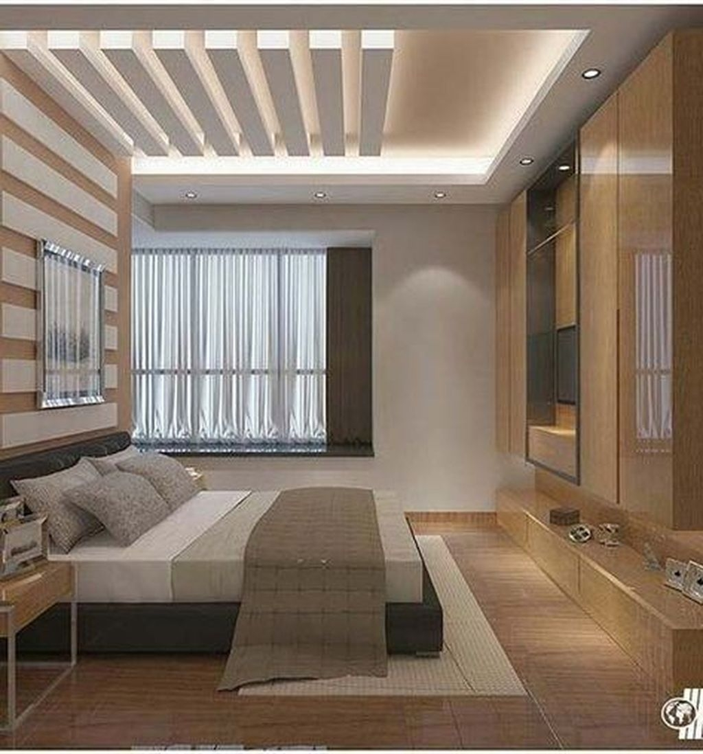 Unordinary Ceiling Design Ideas For Your Bedroom08