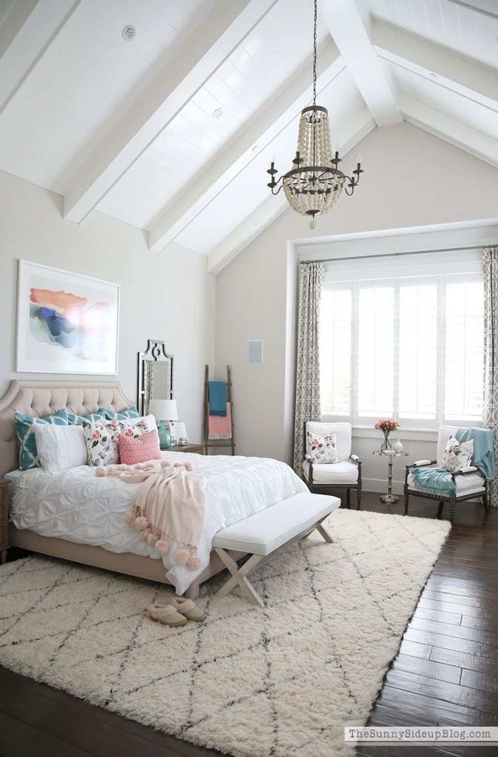 Unordinary Ceiling Design Ideas For Your Bedroom11