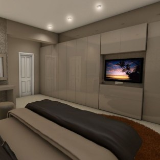 Unordinary Ceiling Design Ideas For Your Bedroom33
