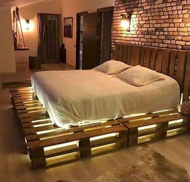 Unordinary Recycled Pallet Bed Frame Ideas To Make It Yourself02