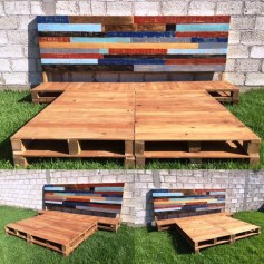 Unordinary Recycled Pallet Bed Frame Ideas To Make It Yourself05