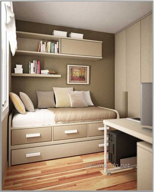 Charming Small Apartment Ideas For Space Saving11