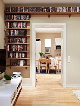 Charming Small Apartment Ideas For Space Saving30