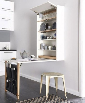 Charming Small Apartment Ideas For Space Saving32