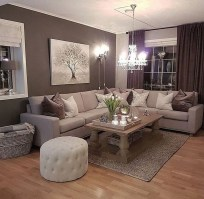 Comfy Living Room Decor Ideas To Make Anyone Feel Right At Home48