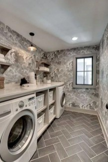 Cute Laundry Room Storage Shelves Ideas To Consider03