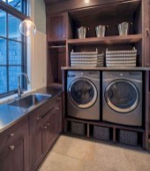 Cute Laundry Room Storage Shelves Ideas To Consider10