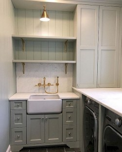 Cute Laundry Room Storage Shelves Ideas To Consider28