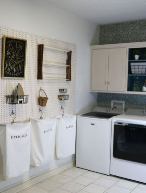 Cute Laundry Room Storage Shelves Ideas To Consider37