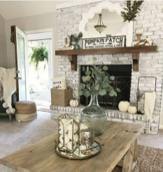 Excellent Fall Decorating Ideas For Home With Farmhouse Style06