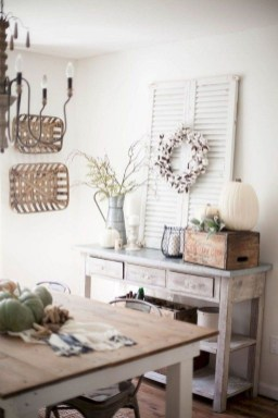 Excellent Fall Decorating Ideas For Home With Farmhouse Style15