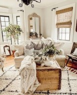 Gorgeous Country Farmhouse Decor Ideas For Living Room12