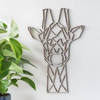 Impressive Minimalist Wall Art Decoration Ideas To Copy Right Now29