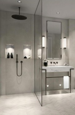 Latest Bathroom Decor Ideas That Match With Your Home Design17