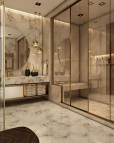 Latest Bathroom Decor Ideas That Match With Your Home Design30