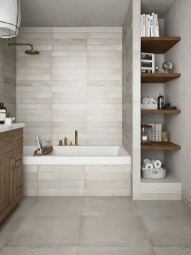 Latest Bathroom Decor Ideas That Match With Your Home Design36