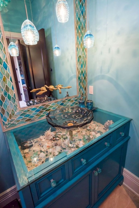 Latest Bathroom Decor Ideas That Match With Your Home Design39
