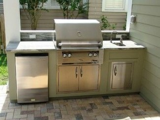 Newest Outdoor Kitchen Decoration Ideas To Make Cozy Kitchen24