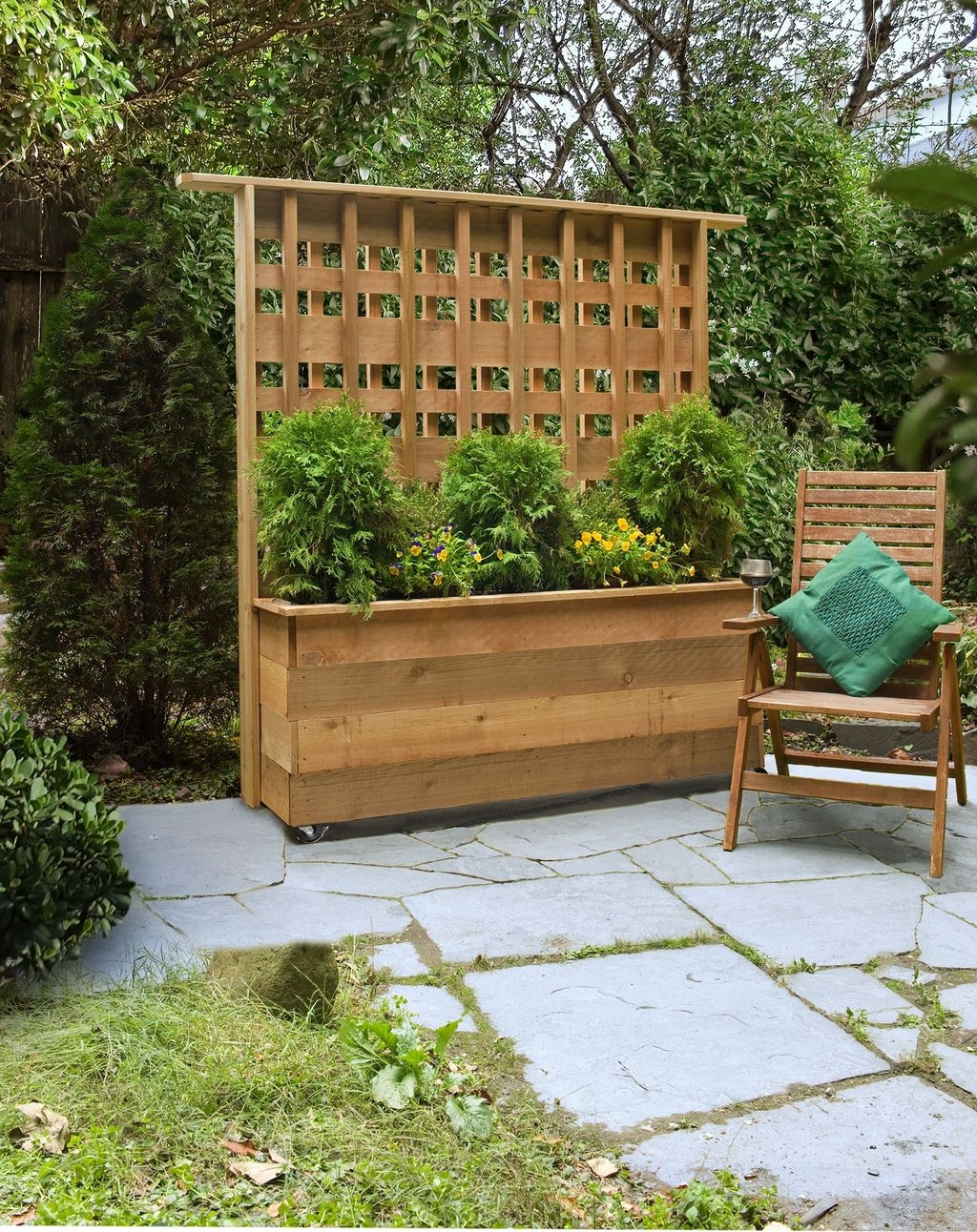 Pretty Privacy Fence Planter Boxes Ideas To Try01