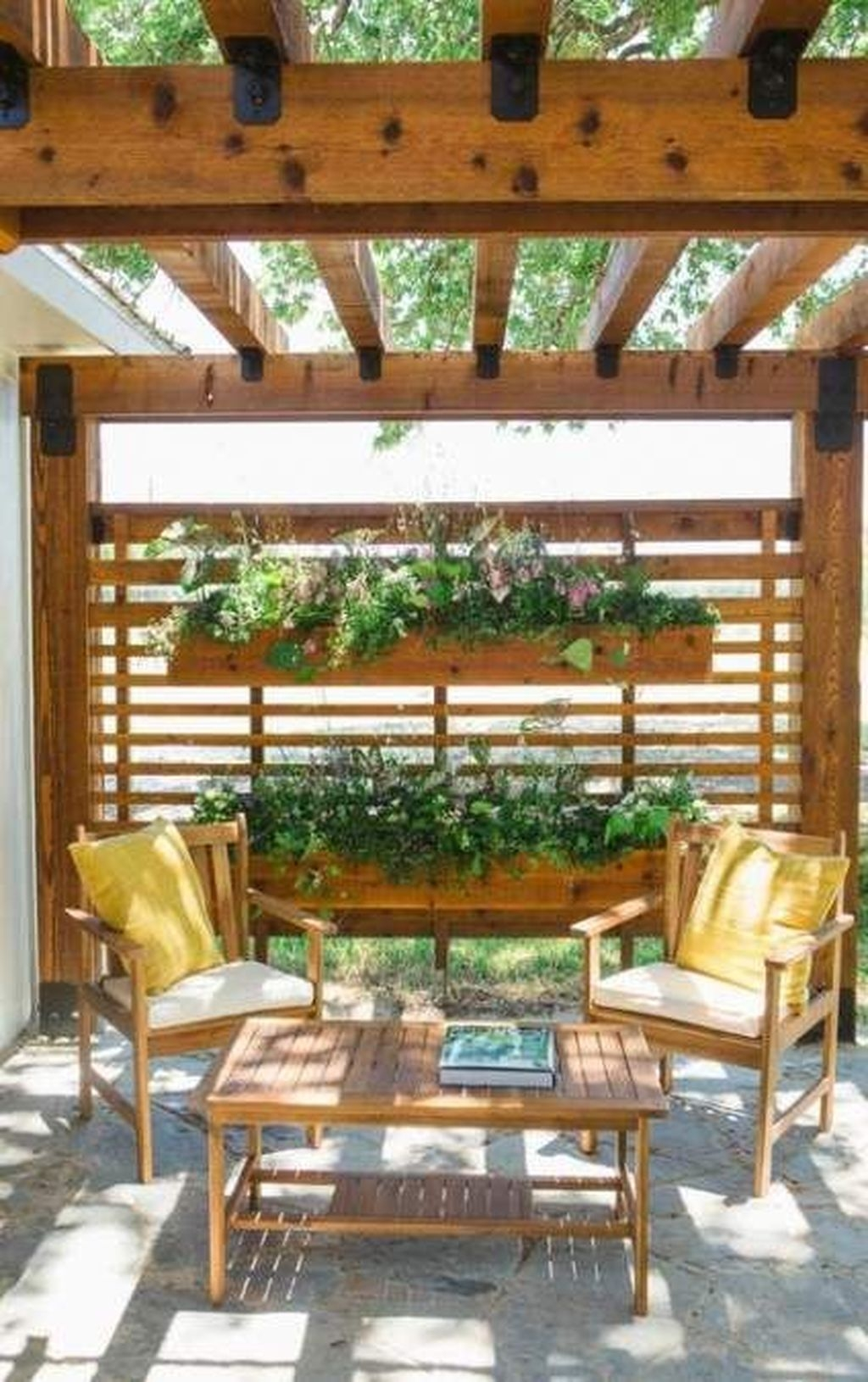 Pretty Privacy Fence Planter Boxes Ideas To Try16