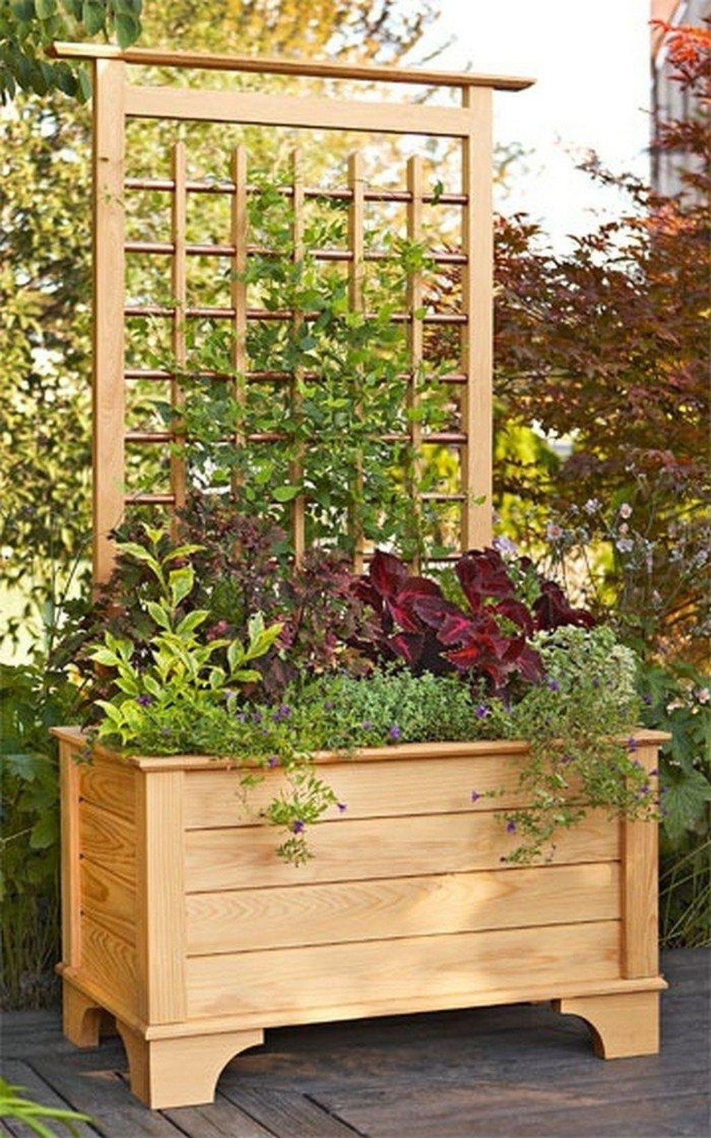 Pretty Privacy Fence Planter Boxes Ideas To Try21
